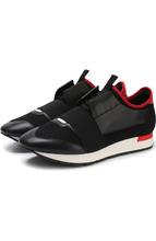 Balenciaga | Комбинированные кроссовки Race на шнуровке Balenciaga | Clouty