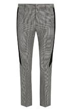 GIVENCHY | Шерстяные брюки прямого кроя с узором houndstooth Givenchy | Clouty