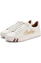 Bally | Кожаные кеды Wiera на шнуровке Bally | Clouty