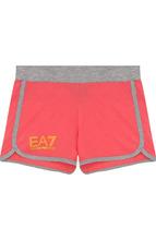 Ea 7 | Хлопковые шорты с контрастной отделкой Ea 7 | Clouty