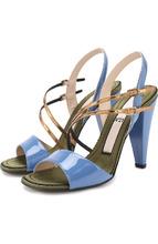 No. 21 | Лаковые босоножки на устойчивом каблуке No. 21 | Clouty