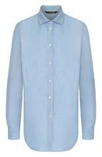 Loro Piana | Блуза прямого кроя из смеси льна и хлопка Loro Piana | Clouty
