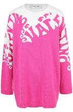 VALENTINO | Кашемировый пуловер с круглым вырезом и принтом Valentino | Clouty