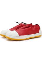 Marni | Кожаные ботинки с регулируемым ремешком Marni | Clouty