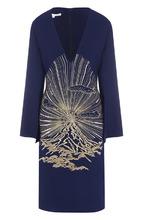 Stella McCartney   Платье с V-образным вырезом и декоративной отделкой Stella McCartney   Clouty