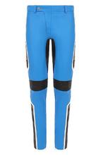 MOSCHINO | Кожаные брюки прямого кроя с контрастной отделкой Moschino | Clouty