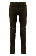 GIVENCHY | Хлопковые брюки прямого кроя с декоративными молниями Givenchy | Clouty