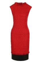 Alexander McQueen | Приталенное буклированное платье без рукавов Alexander McQueen | Clouty