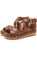 Michael Michael Kors | Кожаные сандалии Darby с заклепками MICHAEL Michael Kors | Clouty