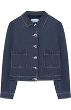 LANVIN   Джинсовая куртка с карманами Lanvin   Clouty