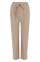 Kiton | Однотонные укороченные брюки с эластичным поясом Kiton | Clouty