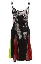 Versus | Приталенное мини-платье с принтом Versus Versace | Clouty