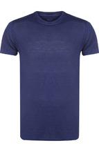 120% Lino | Льняная футболка с круглым вырезом 120% Lino | Clouty