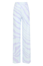 Roberto Cavalli | Расклешенные брюки из вискозы с карманами и принтом Roberto Cavalli | Clouty