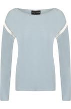 Emporio Armani | Пуловер из вискозы с круглым вырезом Emporio Armani | Clouty