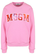 MSGM | Хлопковый свитшот свободного кроя с круглым вырезом MSGM | Clouty