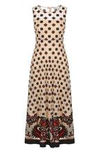 VALENTINO RED   Приталенное платье-миди без рукавов REDVALENTINO   Clouty