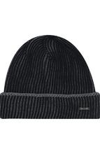 BOSS | Шерстяная шапка с отворотом BOSS | Clouty