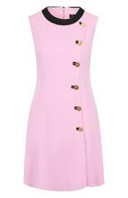 Versace | Приталенное мини-платье с декоративными пуговицами Versace | Clouty