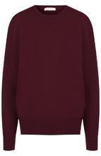 The Row | Однотонный кашемировый пуловер с круглым вырезом The Row | Clouty