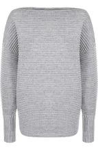 Victoria By Victoria Beckham   Шерстяной пуловер со спущенным рукавом Victoria, Victoria Beckham   Clouty