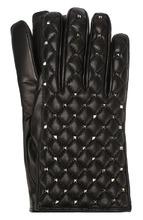 VALENTINO | Кожаные перчатки Valentino Garavani Rockstud Spike Valentino | Clouty