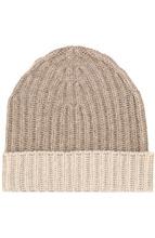 Loro Piana | Кашемировая шапка с контрастным отворотом Loro Piana | Clouty