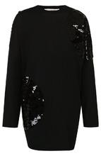 VALENTINO | Шерстяной пуловер свободного кроя с пайетками Valentino | Clouty