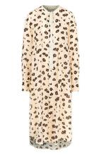Marni | Шелковое платье-миди свободного кроя с принтом Marni | Clouty