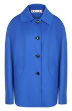 Marni | Однотонное пальто из смеси шерсти и кашемира со спущенным рукавом Marni | Clouty
