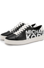 Michael Michael Kors | Кожаные кеды Irving на шнуровке MICHAEL Michael Kors | Clouty