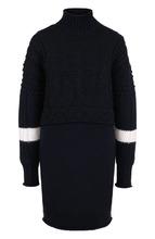 GIVENCHY   Вязаное платье из смеси шерсти и кашемира с высоким воротником Givenchy   Clouty