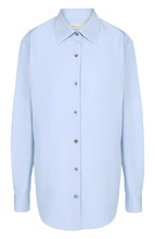 Dries Van Noten   Однотонная хлопковая блуза Dries Van Noten   Clouty