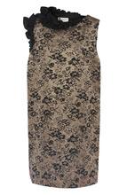 LANVIN   Мини-платье с декоративной отделкой Lanvin   Clouty