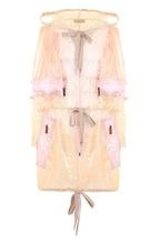 Marc Jacobs | Полупрозрачное пальто на молнии с капюшоном Marc Jacobs | Clouty