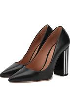 BOSS | Кожаные туфли на устойчивом каблуке BOSS | Clouty