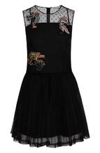 VALENTINO RED   Приталенное мини-платье с декоративной отделкой REDVALENTINO   Clouty