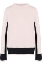 Windsor | Шерстяной пуловер с контрастной отделкой Windsor | Clouty