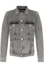 GIVENCHY   Джинсовая куртка на пуговицах Givenchy   Clouty