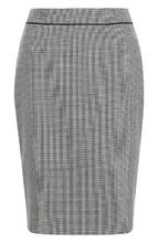 BOSS | Шерстяная юбка-карандаш с разрезом BOSS | Clouty
