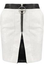 GIVENCHY | Кожаная мини-юбка на молнии Givenchy | Clouty