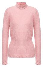 Tom Ford   Приталенный пуловер с воротником-стойкой Tom Ford   Clouty