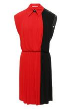 GIVENCHY | Приталенное мини-платье в складку Givenchy | Clouty