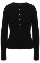 Tom Ford   Однотонный пуловер с круглым вырезом Tom Ford   Clouty