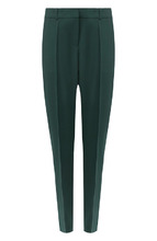 BOSS | Шерстяные брюки со стрелками BOSS | Clouty
