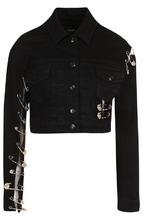 Versus | Джинсовая куртка с декоративной отделкой Versus Versace | Clouty
