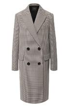 Theory | Двубортное пальто из смеси хлопка и шерсти Theory | Clouty
