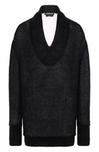 Tom Ford   Вязаный пуловер с V-образным вырезом Tom Ford   Clouty