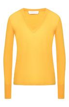 BOSS | Шерстяной пуловер с V-образным вырезом BOSS | Clouty