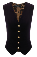 Dolce & Gabbana | Приталенный жилет с V-образным вырезом Dolce & Gabbana | Clouty